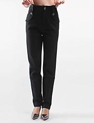 Pantalon Aux femmes Costume Décontracté Sergé Non Elastique