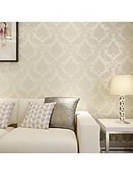 Floreale Carta da parati Classico Rivestimento pareti , Carta Phantom Soundproof Non-Woven 3D Wallpaper