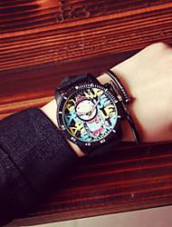 Мужской Наручные часы Кварцевый силиконовый Группа бренд-