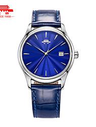 Men's Automatic Mechanical Watch Fashion Belt Quality Wrist Watch Waterproof Watch