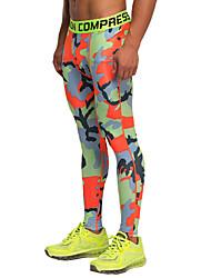 Vansydical® Herre Løb Tights Bukser Leggins Underdele Åndbart letvægtsmateriale Forår Sommer Efterår SportstøjYoga Træning & Fitness