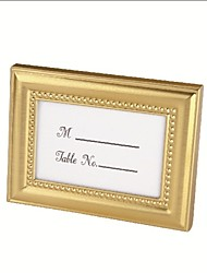 Gold/Silver Beaded Photo Frame and Place card Holder Party Souvenir WJ015