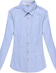 Women's Long Sleeve Plain Blouse