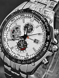 Men's Fashion Quartz Movement Steel Watch Wrist Watch Cool Watch Unique Watch