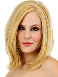 European and American Capless Straight Long Blonde Fashional Synthetic Wig