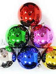 (Christmas) Bright Light Plating Christmas Call 3cm (Set of 12 Random Distribution)