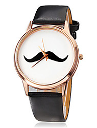 Women's Watches Fashion Moustache Quartz Wrist Watch Cool Watches Unique Watches