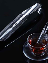 Mesh Loose Pipe Stainless Steel Tea Leaf Infuser Spice Strainer Herbal Filter