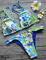 Sunflower design bikini SM-006