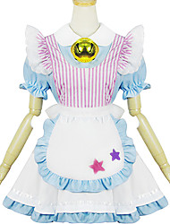 Pink and Blue Polyester Navy Costume