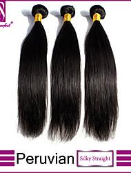 peruana virginal del pelo recto pelo peruano recta 3pcs 8 '' - 30 '' pelo virginal humano recto