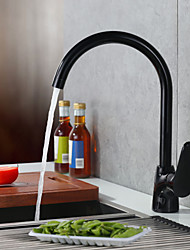 Deck Mounted Single Handle One Hole with Painting Kitchen faucet