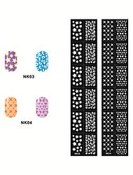 - Finger / Zehe - 3D Nails Nagelaufkleber - Andere - 2 Stück - 14.5*7CM cm