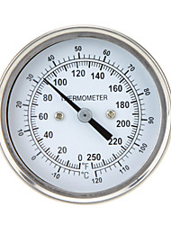 High Precision Stainless Steel Oven Thermometer Temperature Gauge Home Kitchen Food Meat Dial