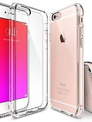 iphone 7 плюс кристально чистое падение шт Защита TPU жесткий чехол бампер для Iphone 6с 6 плюс