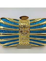 Women Other Leather Type Formal Evening Bag Pink / Blue / Gold / Silver / Black