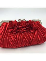 Damen Seide Formell Abendtasche Rosa / Rot / Silber / Schwarz