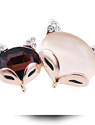 il diamante volpe spilla in cristallo opalino moda sposa