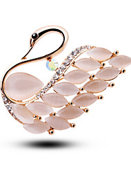 Opal Jewelry Accessories Brooch White-Collar Personality