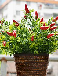 Une succursale Plastique Plantes Fleur de Table Fleurs artificielles 37cm*14cm*14cm