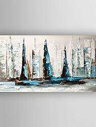 Peint à la main AbstraitModern Un Panneau Toile Peinture à l'huile Hang-peint For Décoration d'intérieur