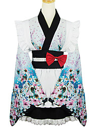 Inspired by Kimono Maid Cosplay Costumes