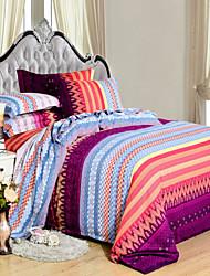 yuxin®thick cepillado de algodón de 4 piezas suite termal cama / 2.0m juego de cama cama de 1,5 m 1,8 m de algodón ropa de cama edredón