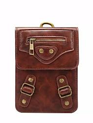 Informeel / Buiten - Portefeuille / Kaart/pasjeshouder / Muntenportemonnee / Mobile Phone Bag / Buiktas - Meerkleurig - PU - Heren