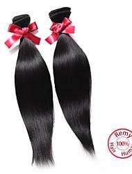 Tissages de cheveux humains Cheveux Péruviens Droit 12 mois tissages de cheveux