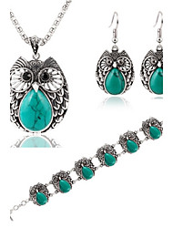 Party / Büro - Damen - Halskette / Ohrring / Armband ( Zirkonia )