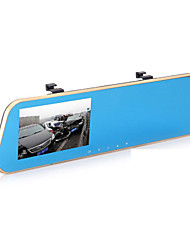 2 Cameras Rearview Car DVR Black Box