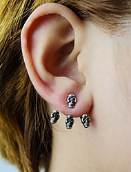 Fashion Vintage Skulls Stud Alloy Earring
