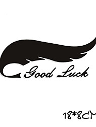 Funny GOOD LUCK Car Sticker Car Window Wall Decal Car Styling