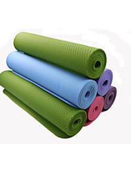 TPE Yoga Mats 183*61*0.8 Non Toxic (1/3 inch) 8 Blue / Green / Orange / Purple / Dark Purple #