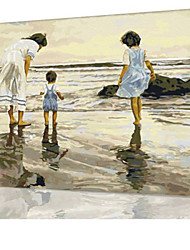 DIY Digital Oil Painting  Frame Family Fun Painting All By Myself  The Sea Of Love X5072