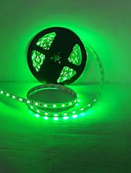 luz conduzida da tira de diodos de luz 3528SMD 300led impermeável / IP65 luz verde / azul claro DC12V 5m /lote