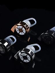 oído estéreo bluetooth gancho bluetooth gl800 csr headset v4.0 EDR 2-en-1 con el micrófono para el iphone / samsung / portátil / tablet