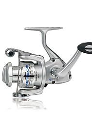 Haibo 1000 Size 4 Bearing Spinning Fishing Reel Gear Ratio 5.2:1 Exchangable Fresh Water Salt Water