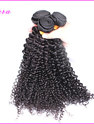 "Unprocessed Eurasian Kinky Curly Hair Extensions 3Pcs Lot Kinky Curly Virgin Hair Weaves 8""-26"" Fast Shipping"