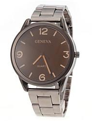 Men Casual Design Steel Band Quartz Watch Wrist Watch Cool Watch Unique Watch