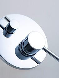 função de duas de bronze movimento parede do chuveiro único punho desviador banheiro torneira misturadora valor
