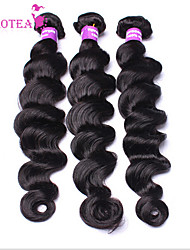 3Pcs/Lot 8''-30'' Brazilian Virgin Hair Loose Wave Brazilian Curly Virgin Hair  Hair Bundles