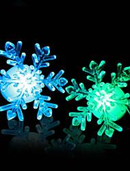 Новый 2 015 7-цветной окно изменения снежинки привели рождественские украшения ночник