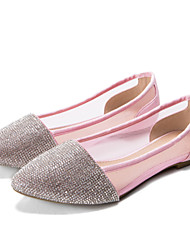 Women's Shoes Synthetic/Tulle Flat Heel Ballerina Flats Wedding Casual