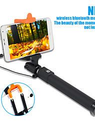 sinnfoto cable s18 selfie palillo extensible monopie de control con cable para teléfono inteligente