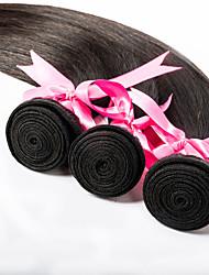3pcs/lot 16inch Human Remy Hair Silk Straight Hair Weft Mongolian Virgin Hair Extensions 100% Human Hair Weaves
