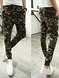 Men's Running Pants Leisure Sports Breathable / Limits Bacteria / Wicking Camouflage Others Sports Wear