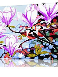 DIY digitales Ölgemälde Frame Familie Spaß Malerei alle von mir Morgenabendlied x5053
