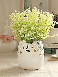 Household Adornment Flowers Plastic Baby Breath Artificial Flowers