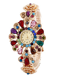 Women'S Watches Fashion Crystal Flowers Bracelet Watch Cool Watches Unique Watches